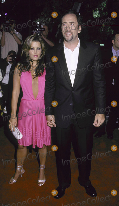 Lisa Marie, Lisa Marie Presley, Nicolas Cage, Lisa Maris Photo - Photo by Russ Einhorn 8/13/2001 Star Max, Inc. 2001Captain Corelli's MandolinThe Academy of Motion Picture Arts and SciencesBeverly Hills, CaliforniaLisa Marie Presley and Nicolas Cage No1