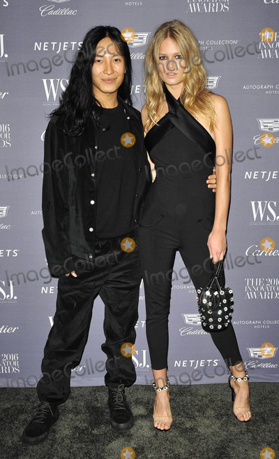 Alexander Wang, Anna Ewers Photo - Photo by: Patricia Schlein/starmaxinc.comSTAR MAX2016ALL RIGHTS RESERVEDTelephone/Fax: (212) 995-119611/2/16Alexander Wang and Anna Ewers at The WSJ Magazine Innovator Awards.(NYC)