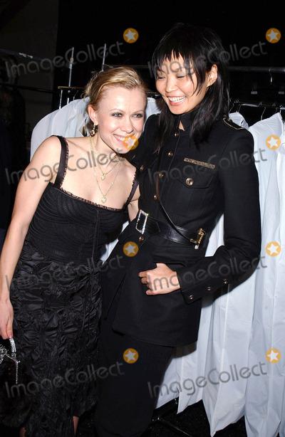 Irina Pantaeva, Oksana Baiul, The Fall Photo - Photo by: Walter Weissman/starmaxinc.com2005. 2/6/05Oksana Baiul and Irina Pantaeva at the Fall 2005 Collections during Fashion Week.(NYC)