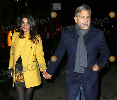 George Clooney, Amal Clooney Photo - Photo by: XPX/starmaxinc.comSTAR MAX2015ALL RIGHTS RESERVEDTelephone/Fax: (212) 995-11963/7/15George Clooney and Amal Clooney are seen in New York City.