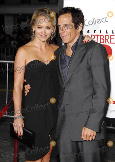 "Ben Stiller, Christine Taylor, The Heartbreakers Photo - Photo by: Michael Germana/starmaxinc.com2007. 9/27/07Christine Taylor and Ben Stiller at the premiere of ""The Heartbreak Kid"".(Westwood, CA)"