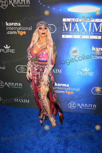 Aubrey O'Day Photo - Photo by: gotpap/starmaxinc.comSTAR MAX2017ALL RIGHTS RESERVEDTelephone/Fax: (212) 995-119610/21/17Aubrey O'Day at The 2017 Maxim Halloween Party in Los Angeles, CA.