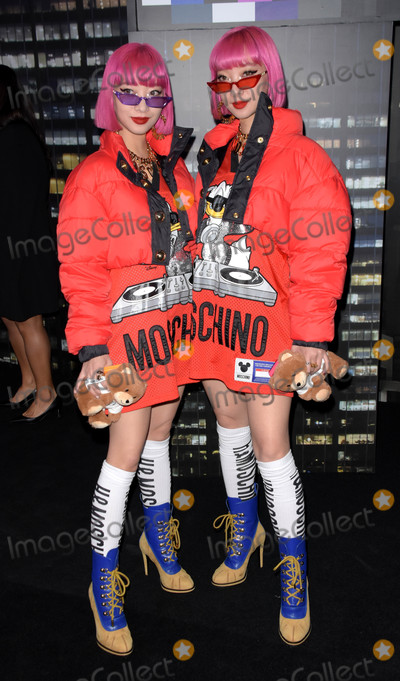 Aya Photo - Photo by: Patricia Schlein/starmaxinc.comSTAR MAX2018ALL RIGHTS RESERVEDTelephone/Fax: (212) 995-119610/24/18Ami and Aya at the Moschino x H&M event in New York City.