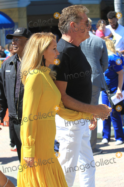 David Hasselhoff, Hayley Roberts Photo - Photo by: SMXRF/starmaxinc.com