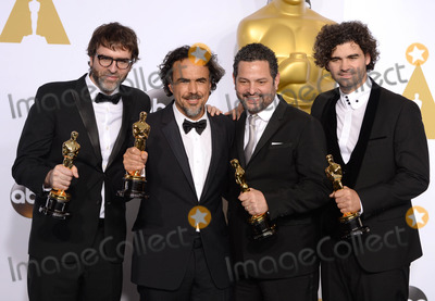 Armando Bo, Alejandro G.Inarritu, Alexander Dinelaris Photo - Photo by: PD/starmaxinc.com