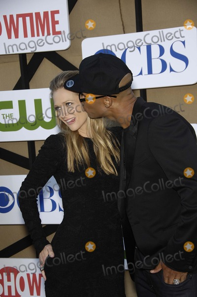 A. J. Cook, A.J. Cook, Aj Cook, AJ Cook, Shemar Moore, A.J Cook Photo - A.J. Cook and Shemar Moore during the CBS Network TCA Party, held at 9900 Wilshire Blvd., on July 29, 2013, in Beverly Hills, California