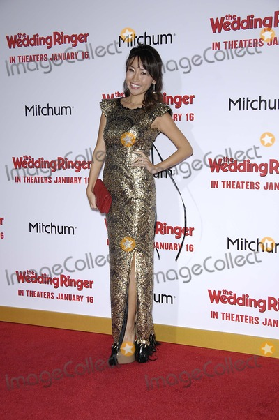 """Amy Haruna Photo - Photo by: Michael Germana/starmaxinc.comSTAR MAX2015ALL RIGHTS RESERVEDTelephone/Fax: (212) 995-11961/6/15Ami Haruna at the premiere of """"The Wedding Ringer"""".(Los Angeles, CA)"""