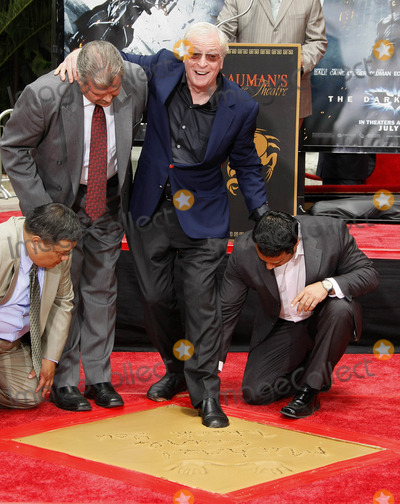 Michael Caine, Michael Cain, Michael Bublé, Michael Paré Photo - Photo by: NPX/starmaxinc.com2008. 7/11/08Michael Caine at a hand and footprint ceremony.(Grauman's Chinese Theater, Hollywood, CA)***Not for syndication in France!***