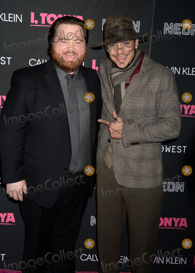 """Photo - Photo by: Dennis Van Tine/starmaxinc.comSTAR MAXCopyright 2017ALL RIGHTS RESERVEDTelephone/Fax: (212) 995-119611/28/17Paul Walter Hauser and Ricky Russert at the premiere of """"I, Tonya"""".(NYC)"""