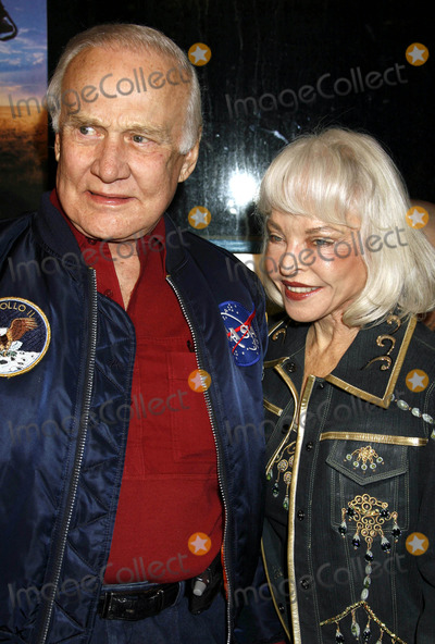 "Buzz Aldrin, 'Buzz' Aldrin Photo - Photo by: RE/Westcom/starmaxinc.com2007. 2/20/07Buzz Aldrin and wife at the premiere of ""The Astronaut Farmer"".(Hollywood, CA)"