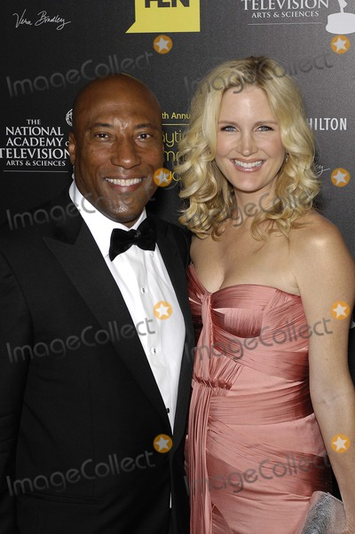 Byron Allen Photo - Byron Allen and Jennifer Lucas during the 39th Annual Daytime Emmy Awards, held at the Beverly Hilton Hotel, on June 23, 2012, in Beverly Hills, California.