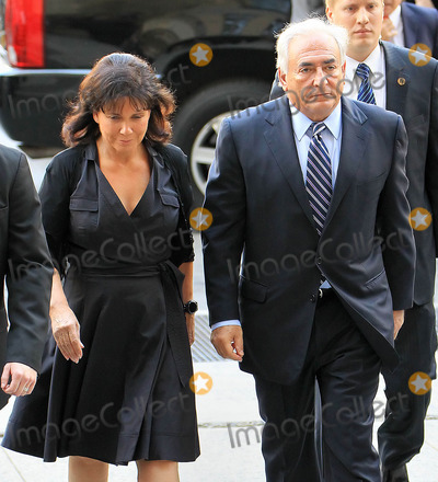 Sinclair, Dominique Strauss-Kahn, Anne Sinclair Photo - Photo by: Jackson Lee/starmaxinc.com