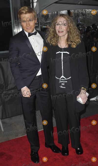 Mia Farrow, Ronan Farrow Photo - Photo by: Patricia Schlein/starmaxinc.comSTAR MAX2015ALL RIGHTS RESERVEDTelephone/Fax: (212) 995-11964/21/15Ronan Farrow and Mia Farrow at the 2015 Time 100 Gala.(NYC)