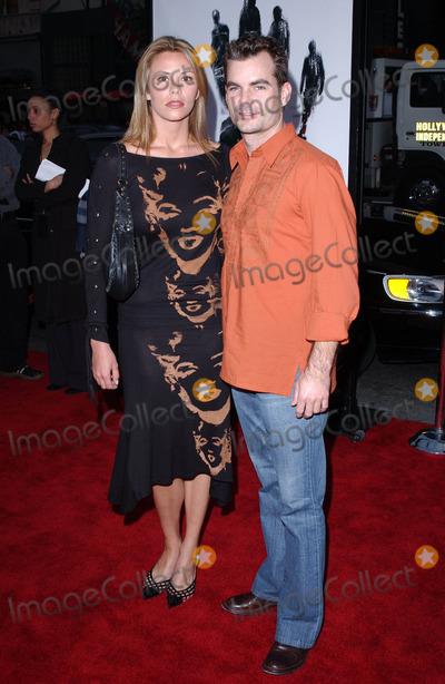 "Amanda Church, Jeff Gordon, Hollies Photo - Photo by: Lee RothHollyNet.Com - copyright 2003. Telephone: (323) 876-30504/23/03Jeff Gordon and Amanda Church at the world premiere of ""Identity"".(Hollywood, CA)"