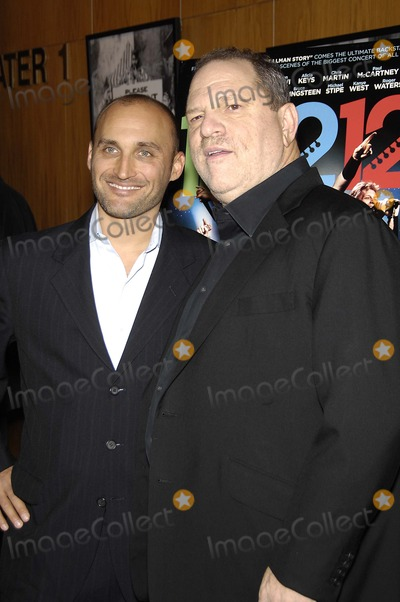 Amir Bar-Lev, Harvey Weinstein Photo - Amir Bar-Lev and Harvey Weinstein during the premiere of the new movie from The Weinstein Company 12-12-12, held at the Directors Guild of America Theatre, on October 29, 2013, in Los Angeles.Photo: Michael Germana Star Max