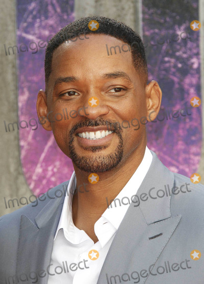 """Will Smith Photo - Photo by: KGC-254/starmaxinc.comSTAR MAX2016ALL RIGHTS RESERVEDTelephone/Fax: (212) 995-11968/3/16Will Smith at the premiere of """"Suicide Squad"""".(London, England)"""