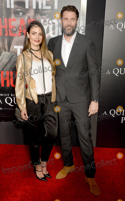 Andrew Form, Jordana Brewster Photo - Photo by: Dennis Van Tine/starmaxinc.comSTAR MAX2018ALL RIGHTS RESERVEDTelephone/Fax: (212) 995-11964/2/18Jordana Brewster and Andrew Form at the premiere of 'A Quite Place' in New York City.