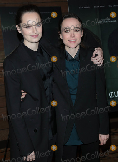 Ellen Page, The Cure Photo - Photo by: gotpap/starmaxinc.comSTAR MAX2018ALL RIGHTS RESERVEDTelephone/Fax: (212) 995-11962/20/18Emma Portner and Ellen Page at the premiere of 'The Cured' in Los Angeles, CA.