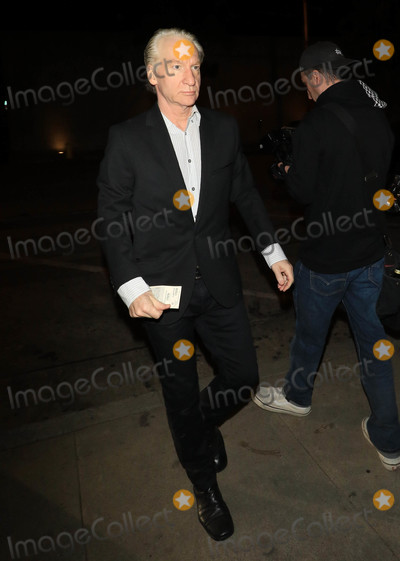 Bill Maher Photo - Photo by: gotpap/starmaxinc.comSTAR MAX2018ALL RIGHTS RESERVEDTelephone/Fax: (212) 995-11963/27/18Bill Maher outside Craig's Restaurant in West Hollywood, CA.