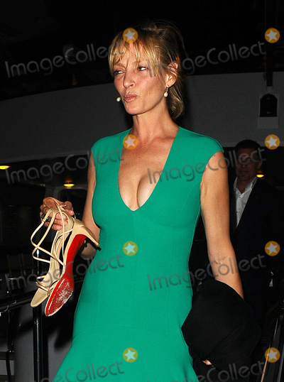 Andre Balazs, Uma Thurman, Andr Balazs Photo - Photo by: KGC-102/starmaxinc.comSTAR MAX2015ALL RIGHTS RESERVEDTelephone/Fax: (212) 995-11965/17/15Uma Thurman and Andre Balazs are seen leaving a yacht party at the port during the 68th Annual Cannes Film Festival.(Cannes, France)