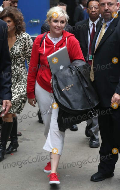 Lena Dunham Photo - Photo by: KGC-146/starmaxinc.comSTAR MAX2014ALL RIGHTS RESERVEDTelephone/Fax: (212) 995-11969/30/14Lena Dunham at ABC Television Studios for an appearance on Good Morning America.(NYC)