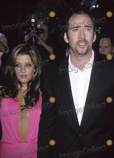 Lisa Marie, Lisa Marie Presley, Nicolas Cage, Lisa Maris Photo - Photo by Russ Einhorn 8/13/2001 Star Max, Inc. 2001Captain Corelli's MandolinThe Academy of Motion Picture Arts and SciencesBeverly Hills, CaliforniaLisa Marie Presley and Nicolas Cage No3