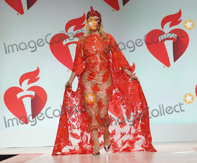 Rosanna Arquette Photo - Photo by: zz/John Nacion/starmaxinc.comSTAR MAXCopyright 2019ALL RIGHTS RESERVEDTelephone/Fax: (212) 995-11962/7/19Rosanna Arquette on the runway at The American Heart Association's Go Red For Women Red Dress Collection Fashion Show during New York Fashion Week in New York City.(NYC)