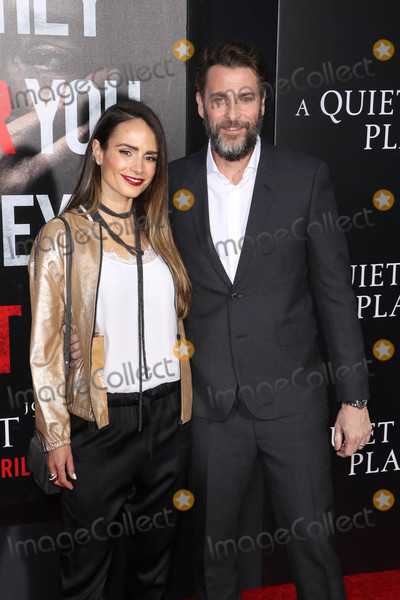 Andrew Form, Jordana Brewster Photo - Photo by: John Nacion/starmaxinc.comSTAR MAX2018ALL RIGHTS RESERVEDTelephone/Fax: (212) 995-11964/2/18Jordana Brewster and Andrew Form at the premiere of 'A Quite Place' in New York City.