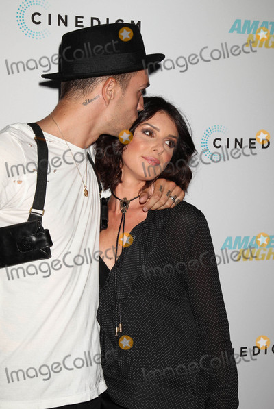 """Josh Beech, Shenae Grimes Photo - Photo by: RE/Westcom/starmaxinc.comSTAR MAX2016ALL RIGHTS RESERVEDTelephone/Fax: (212) 995-11967/25/16Josh Beech and Shenae Grimes at the premiere of """"Amateur Night"""".(Hollywood, CA)"""