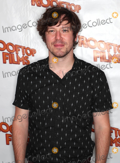 """Gallagher, John Gallagher, John Gallagher Jr., John Gallagher, Jr. Photo - Photo by: John Nacion/starmaxinc.comSTAR MAX2018ALL RIGHTS RESERVEDTelephone/Fax: (212) 995-11967/31/18John Gallagher Jr. at a screening of """"Miseducation of Cameron Post"""" in New York City."""