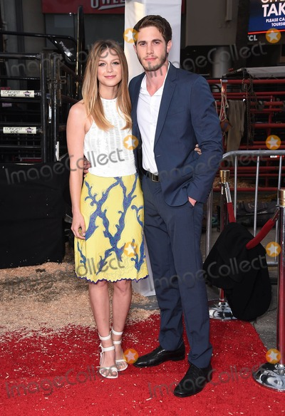 """MELISSA BENOIST, Blake Jenner Photo - Photo by: KGC-11/starmaxinc.comSTAR MAX2015ALL RIGHTS RESERVEDTelephone/Fax: (212) 995-11964/6/15Melissa Benoist and Blake Jenner at the premiere of """"The Longest Ride"""".(Los Angeles, CA)"""