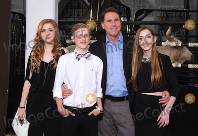 """Nicholas Sparks Photo - Photo by: KGC-11/starmaxinc.comSTAR MAX2015ALL RIGHTS RESERVEDTelephone/Fax: (212) 995-11964/6/15Nicholas Sparks and family at the premiere of """"The Longest Ride"""".(Los Angeles, CA)"""