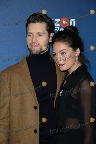 """Alexa Davalos, Luke Kleintank Photo - Photo by: gotpap/starmaxinc.comSTAR MAX2016ALL RIGHTS RESERVEDTelephone/Fax: (212) 995-119612/8/16Luke Kleintank and Alexa Davalos at the premiere of """"The Man In The High Castle"""" Season 2 in Los Angeles, CA."""