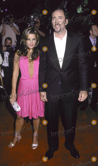 Lisa Marie, Lisa Marie Presley, Nicolas Cage, Lisa Maris Photo - Photo by Russ Einhorn 8/13/2001 Star Max, Inc. 2001Captain Corelli's MandolinThe Academy of Motion Picture Arts and SciencesBeverly Hills, CaliforniaLisa Marie Presley and Nicolas Cage No2