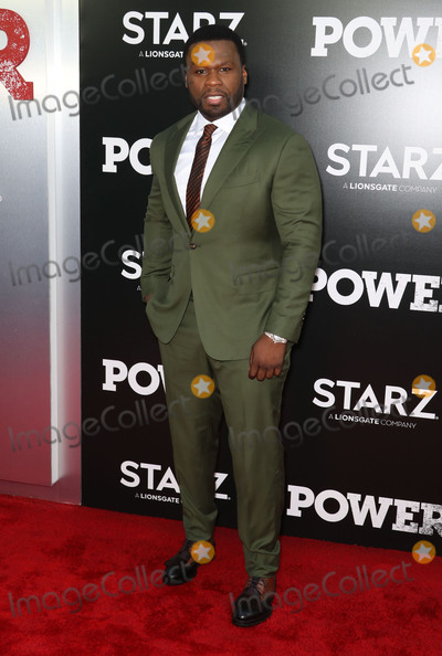 """Curtis Jackson, 50 Cent Photo - Photo by: John Nacion/starmaxinc.comSTAR MAXCopyright 2018ALL RIGHTS RESERVEDTelephone/Fax: (212) 995-11966/28/18Curtis Jackson aka 50 Cent at the STARZ Television Network Season 5 premiere of """"Power"""" in New York City.(NYC)"""