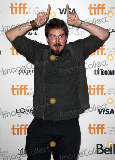 """Adam Wingard Photo - Photo by: KGC-146/starmaxinc.comSTAR MAX2014ALL RIGHTS RESERVEDTelephone/Fax: (212) 995-11969/13/14Adam Wingard at the premiere of """"The Guest"""" during the Toronto International Film Festival.(Toronto, Canada)"""