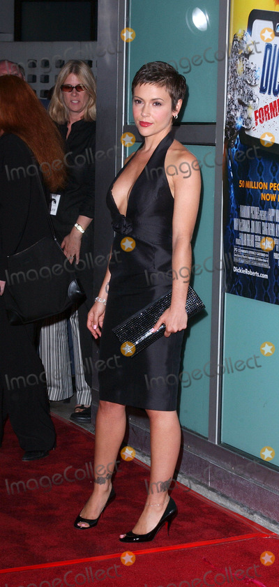 """Alyssa Milano, Chris Farley Photo - Photo by: Lee RothSTAR MAX, Inc. - copyright 2003. 9/03/03Alyssa Milano at the world premiere of """"Dickie Roberts: Former Child Star"""" benefitting the Chris Farley Foundation.(Hollywood, CA)"""