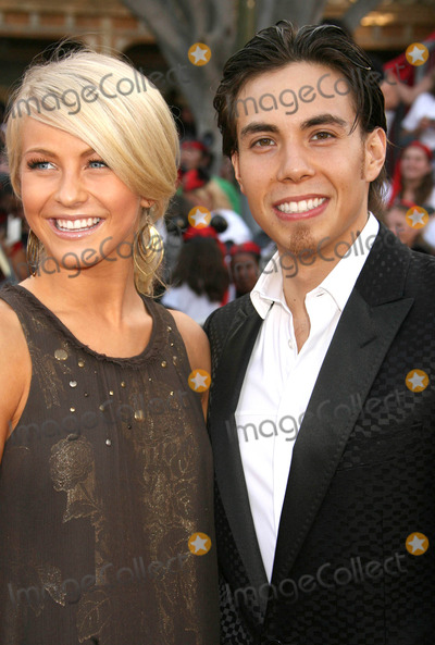 """Apolo Anton Ohno, Julianne Hough Photo - Photo by: RE/Westcom/starmaxinc.com2007. 5/19/07Julianne Hough and Apolo Anton Ohno at the premiere of """"Pirates of the Caribbean: At World's End"""".(Anaheim, CA)"""
