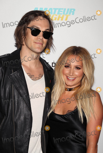 """Ashley Tisdale, Christopher French Photo - Photo by: RE/Westcom/starmaxinc.comSTAR MAX2016ALL RIGHTS RESERVEDTelephone/Fax: (212) 995-11967/25/16Christopher French and Ashley Tisdale at the premiere of """"Amateur Night"""".(Hollywood, CA)"""