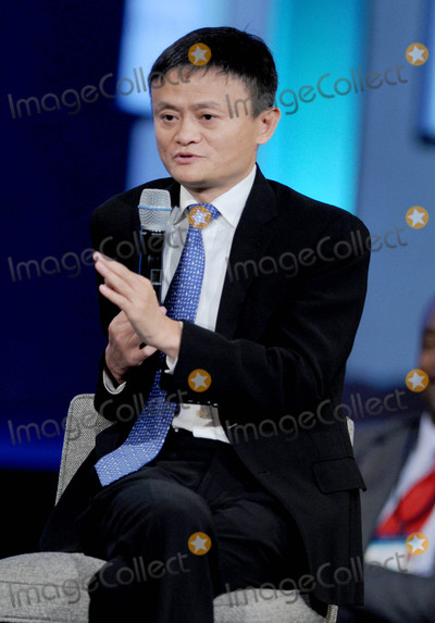 JACK MA, THE CLINTONS Photo - Photo by: Dennis Van Tine/starmaxinc.comSTAR MAX2015ALL RIGHTS RESERVEDTelephone/Fax: (212) 995-11969/29/15Jack Ma at The Clinton Initiative 2015 Annual Meeting.(NYC)