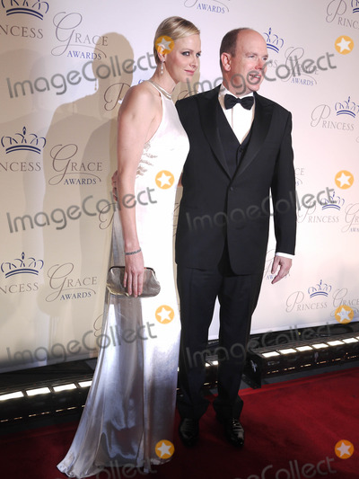 Albert II, Prince of Monaco, Prince Photo - Photo by: John M. Mantel/starmaxinc.com10/22/12(NYC)Albert II, Prince of Monaco with wife Charlene, Princess of Monaco.The Princess Grace Awards began in 1984 to recognize outstanding emerging artists in theater, dance, and film.