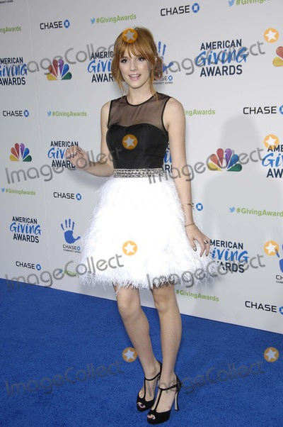 Bella Thorne Photo - Bella Thorne during the 2nd Annual American Giving Awards, held at the Pasadena Civic Auditorium, on December 7, 2012, in Pasadena, California.Photo: Michael Germana Star Max