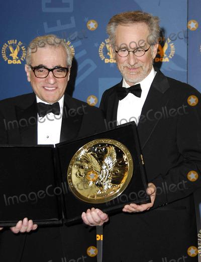 Martin Scorsese, Steven Spielberg Photo - Photo by: Michael Germana/starmaxinc.com2007. 2/3/07Martin Scorsese and Steven Spielberg at the 59th Annual Directors Guild Awards.(Century City, CA)