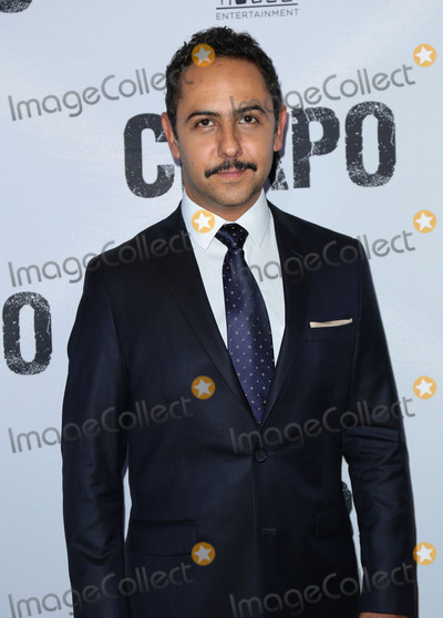 """Humberto Busto, El Chapo Photo - Photo by: gotpap/starmaxinc.comSTAR MAXCopyright 2017ALL RIGHTS RESERVEDTelephone/Fax: (212) 995-11964/19/17Humberto Busto at the premiere of """"El Chapo"""".(Los Angeles, CA)"""
