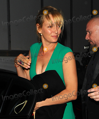 Uma Thurman Photo - Photo by: KGC-102/starmaxinc.comSTAR MAX2015ALL RIGHTS RESERVEDTelephone/Fax: (212) 995-11965/17/15Uma Thurman is seen leaving a yacht party at the port during the 68th Annual Cannes Film Festival.(Cannes, France)