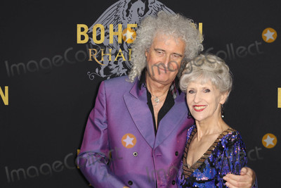 "Anita Dobson, Brian May Photo - Photo by: John Nacion/starmaxinc.comSTAR MAX2018ALL RIGHTS RESERVEDTelephone/Fax: (212) 995-119610/30/18Brian May and Anita Dobson at the premiere of ""Bohemian Rhapsody"" in New York City."