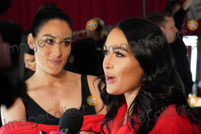 Brie Bella, Nikki Bella Photo - Photo by: zz/John Nacion/starmaxinc.comSTAR MAXCopyright 2019ALL RIGHTS RESERVEDTelephone/Fax: (212) 995-11962/7/19Brie Bella and Nikki Bella backstage at The American Heart Association's Go Red For Women Red Dress Collection Fashion Show during New York Fashion Week in New York City.(NYC)