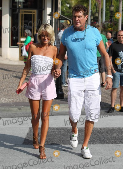David Hasselhoff, Hayley Roberts Photo - Photo by: VPFPC/starmaxinc.com