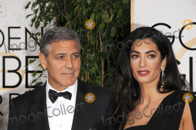 George Clooney, Amal Clooney Photo - Photo by: Galaxy/starmaxinc.com