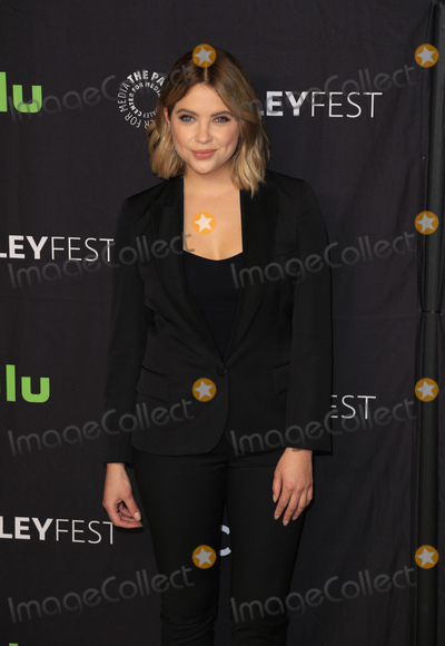 """Ashley Benson Photo - Photo by: gotpap/starmaxinc.comSTAR MAXCopyright 2017ALL RIGHTS RESERVEDTelephone/Fax: (212) 995-11963/25/17Ashley Benson at the photocall for """"Pretty Little Liars"""" during The Paley Center For Media's 34th Annual PaleyFest Los Angeles.(Hollywood, CA)"""